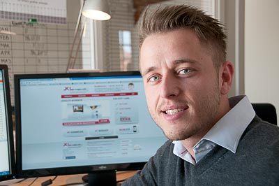 Armin Vukas, grafiker og supporter hos Xlweb