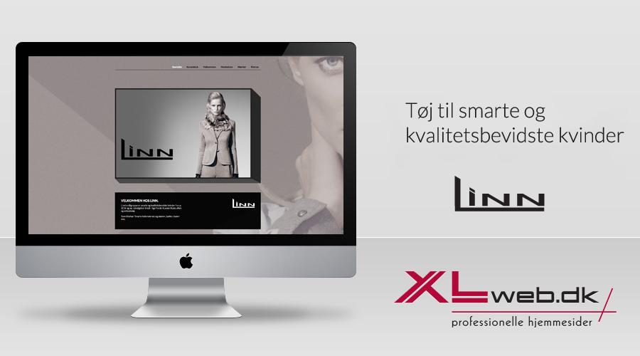 Besøg LINN i Nyborg - Hjemmeside af XLweb.dk