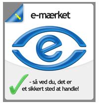 Webshop hos XLweb er typegodkendt af E-mærket