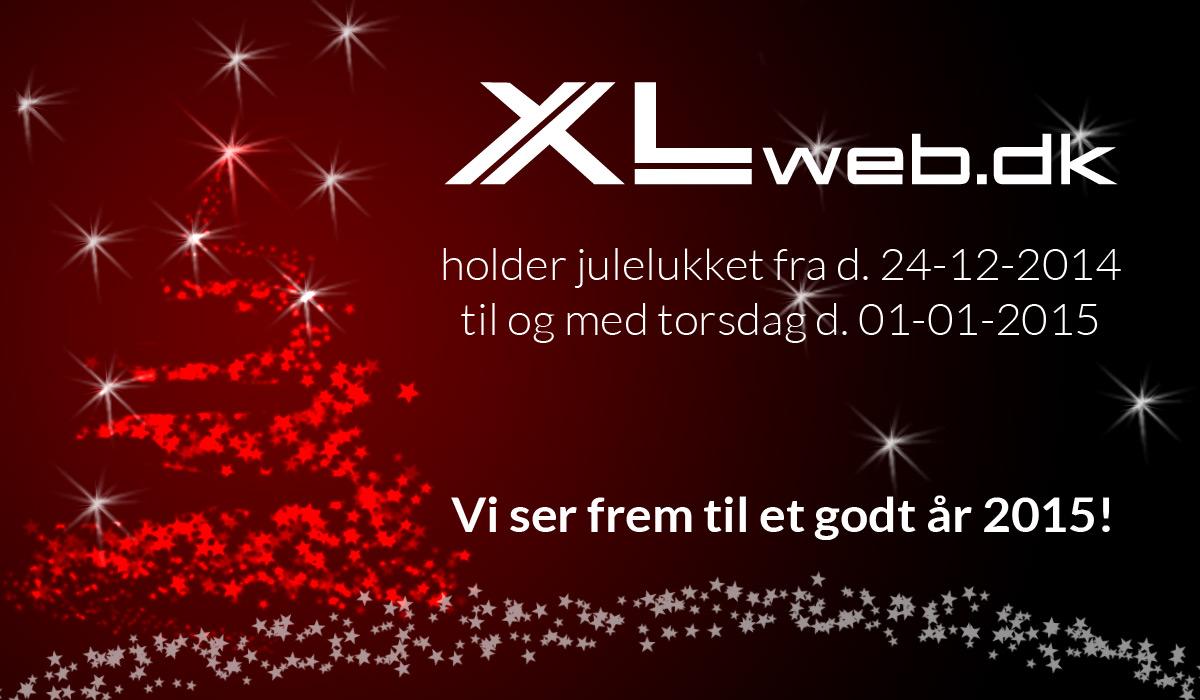 XLweb ønsker alle vore kunder en rigtig glædelig jul samt godt nytår!